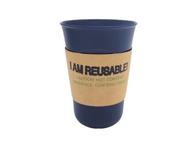 *NEW* Reusable Cardboard Heat Sleeve (pack of 25 - unbranded - cup sold separately)