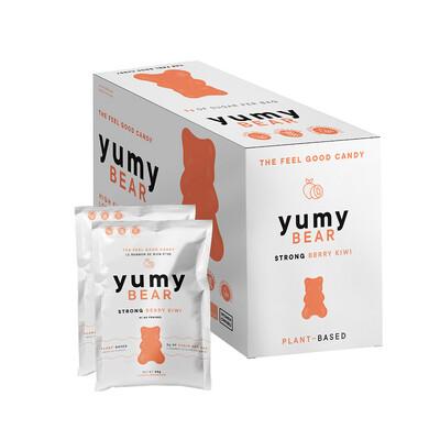 * NEW * - Yumy Bear - Fruity Gummy Bears - Strong Berry Kiwi - 12x50g