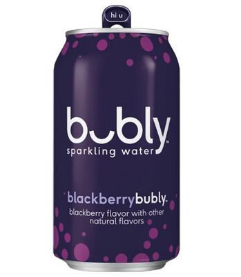 *NEW* - Bubly - Sparkling Beverage - Blackberry - 12x355mL