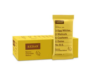*New* - RX Bar - Snack Bar - Banana Chocolate Walnut - 12x52g