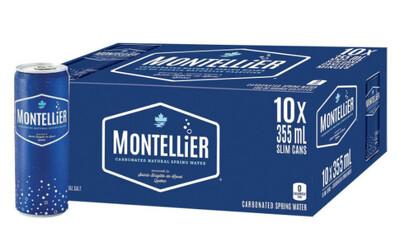 *NEW* - Montellier - Sparkling Water - Original - 10x355mL