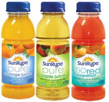 *NEW* - SunRype - Juice - Variety Pack - 24x296mL