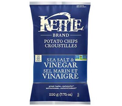 Kettle - Potato Chips - Sea Salt & Vinegar - 24x45g