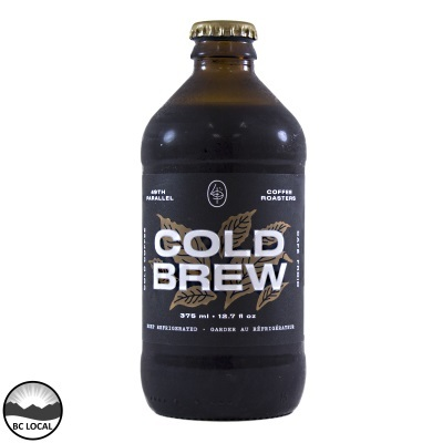 49th Parallel - Cold Brew Coffee - Original - 12x375mL (3-5 Day Lead Time)