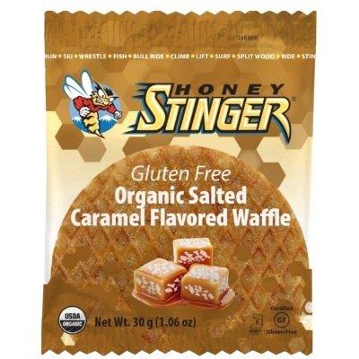 Honey Stinger - Organic Waffle - Salted Caramel (Gluten Free) - 16x30g