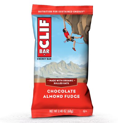 Clif - Clif Energy Bar - Chocolate Almond Fudge - 12x68g