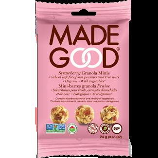 Made Good - Granola Minis - Strawberry - 24x24g