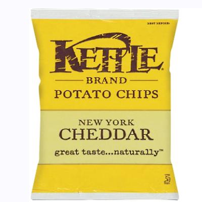 Kettle - Potato Chips - New York Cheddar - 24x45g