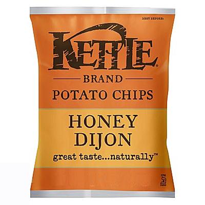 Kettle - Potato Chips - Honey Dijon - 24x45g