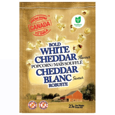 From Farm to Table - Popcorn - White Cheddar - 32x21g