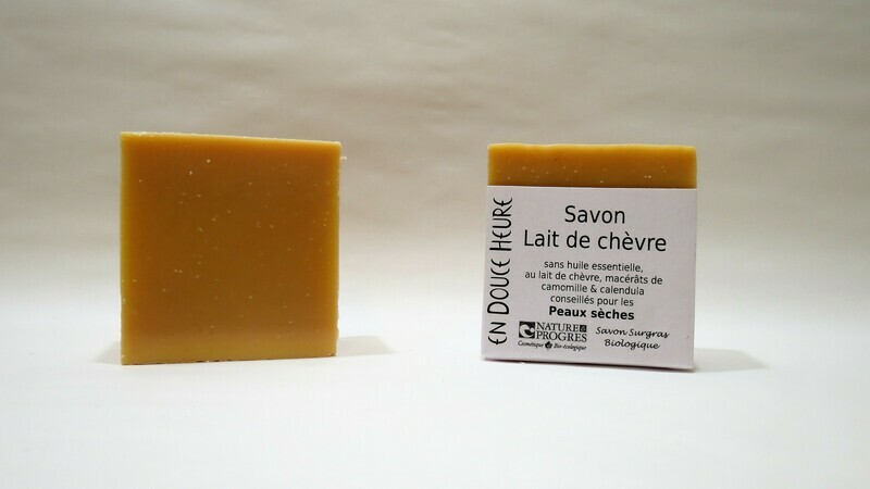 Savon LAIT DE CHEVRE - 100g