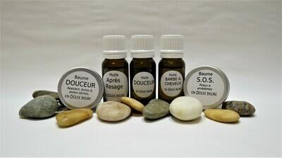 LES MINIS - Assortiment de 5 cosmétiques
