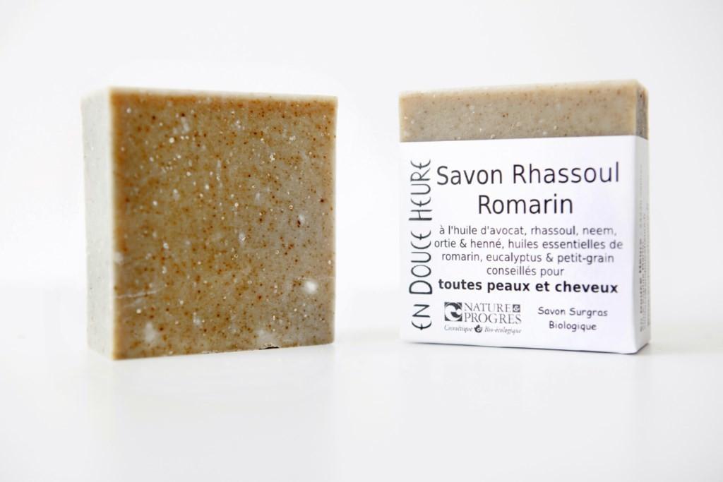 Savon RHASSOUL ROMARIN - 100g