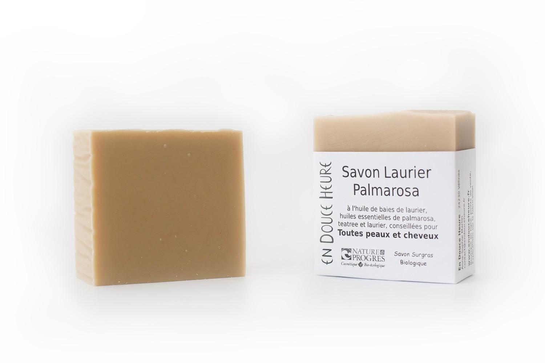 Savon LAURIER PALMAROSA - 100g