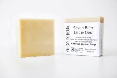Savon BIÈRE LAIT ŒUF - 100g
