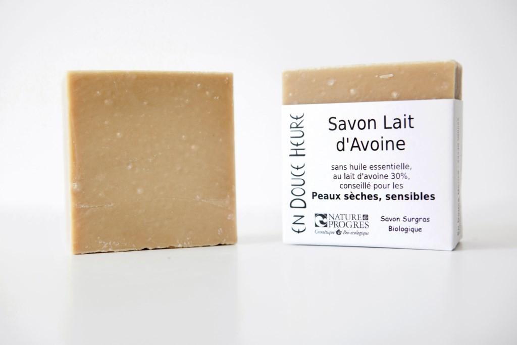 Savon LAIT D'AVOINE - 100g