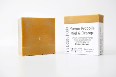 Savon PROPOLIS MIEL ORANGE - 100g