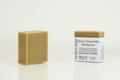 Savon CAMOMILLE MANDARINE - 100g
