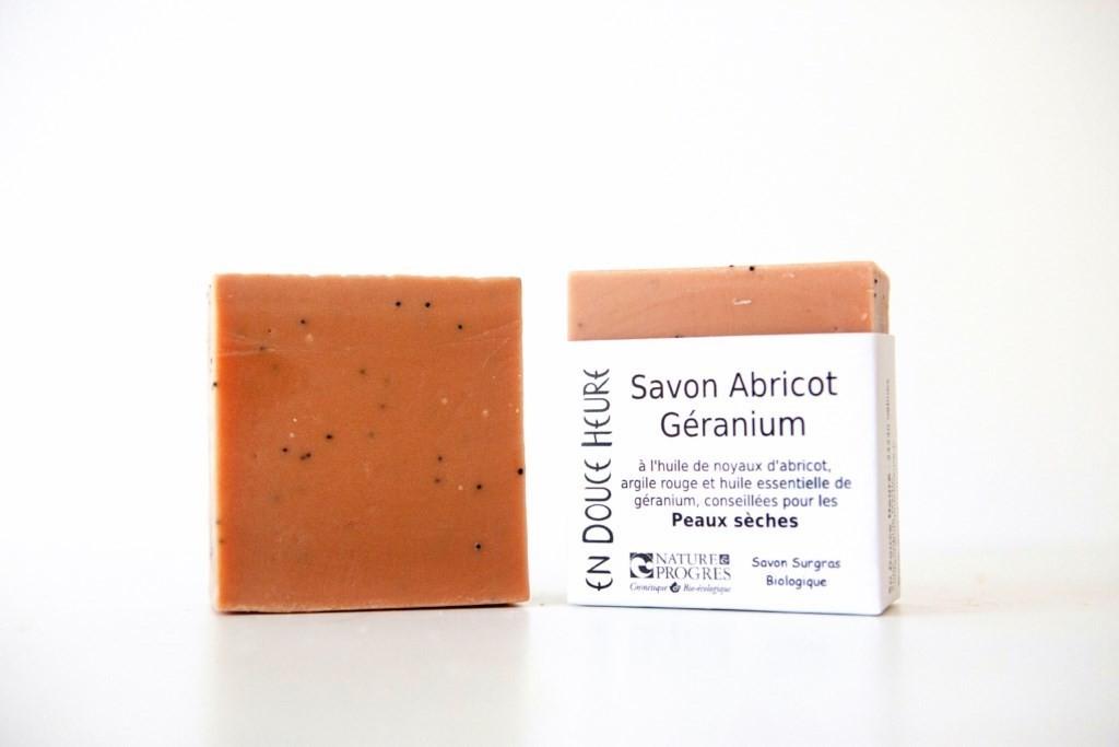 Savon ABRICOT GÉRANIUM - 100g