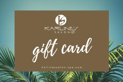 Karline's Salon and Spa Gift card