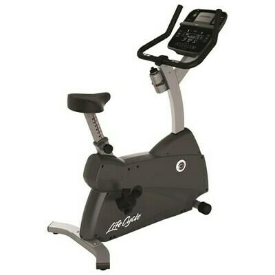 Life Fitness C1 Track Upright Bike