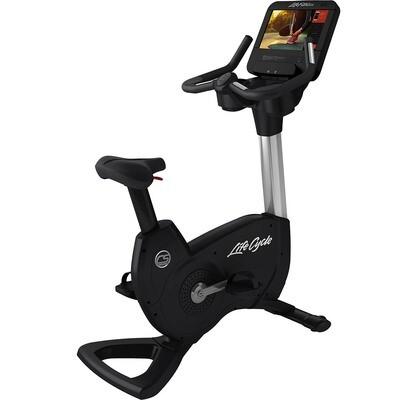 Life Fitness Club Series+ Upright Bike w/SE3HD Console
