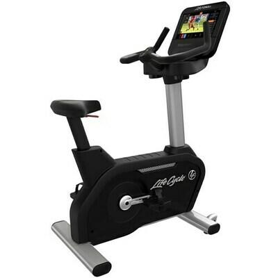 Life Fitness Club Series+ Upright Bike w/ST Console