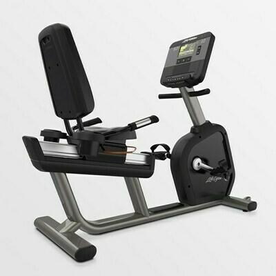 Life Fitness Club Series+ Recumbent Bike w/X Console