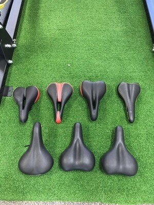 Standard Bicycle Seats - 6 available