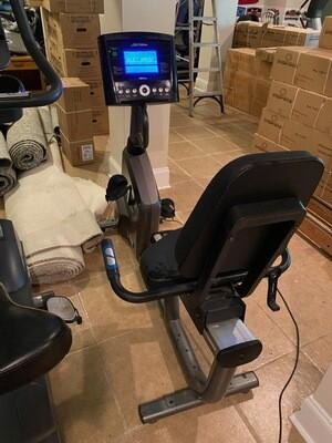 Life Fitness RS1 Recumbent Bike w/GO Console