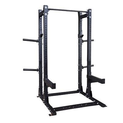 Body Solid Pro Clubline SPR500BACK Extended Half Rack - Call for best pricing!