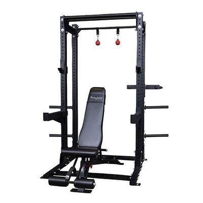 Body Solid Pro Clubline SPR500BACKP4 Half Rack Package - Call for best pricing!