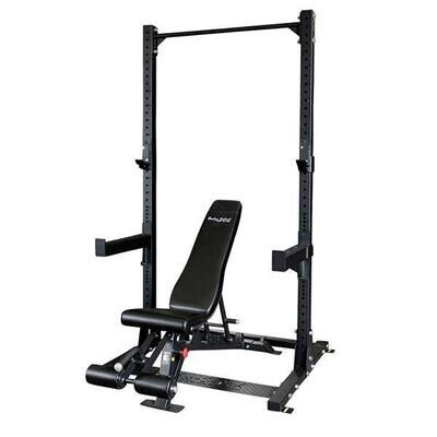 Body Solid Pro Clubline SPR500P2 Half Rack Package - Call for best pricing!