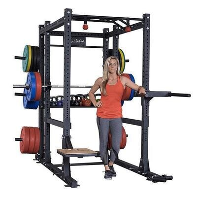 Body Solid SPR1000BACKP4 Extended Power Rack Package - Call for best pricing!