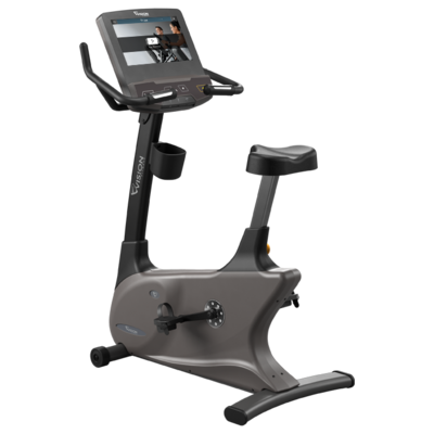 Vision Fitness U600ENT Upright Bike - Call for best pricing!