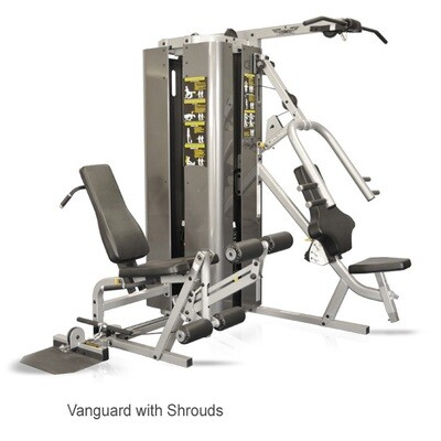 Inflight Vanguard 2-Stack, 3 Station Multi Gym w/Full Shrouds - Call for best pricing!