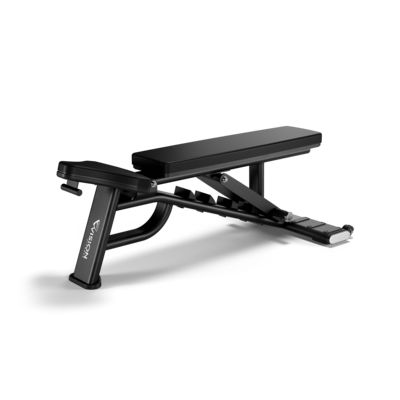 Vision Fitness VST600-FW82 Adjustable Bench - Call for best pricing!