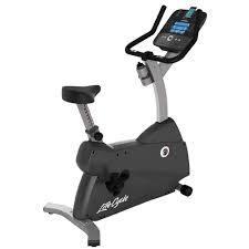 Life Fitness C1 GO Upright Bike
