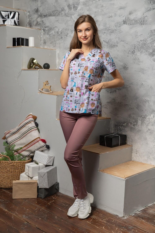 Блуза Мираж люкс укороченная