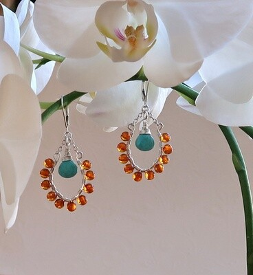 Amber and Turquoise