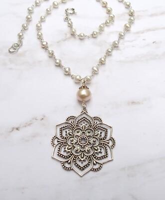 Mandala & Pearls