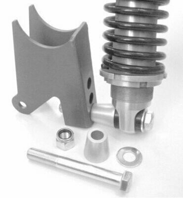 Rear Coilover Bolt Kit, aluminum spacers