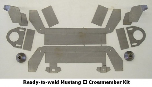Mustang II Crossmember Kit, for Coil Springs