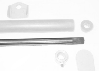 """Sway bar, 3/4"""" or 1"""", splined one end"""