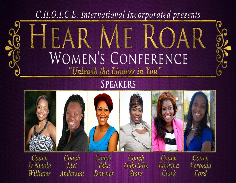 Hear Me Roar 2015 Conference DVD
