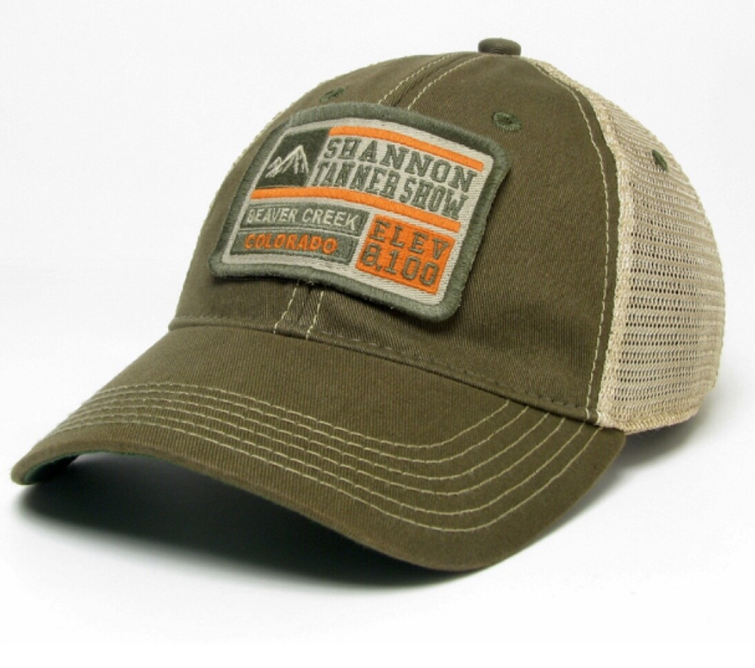 Beaver Creek/Shannon Tanner Show Limited Edition (Olive) Legacy Soft Mesh Truckers Hat