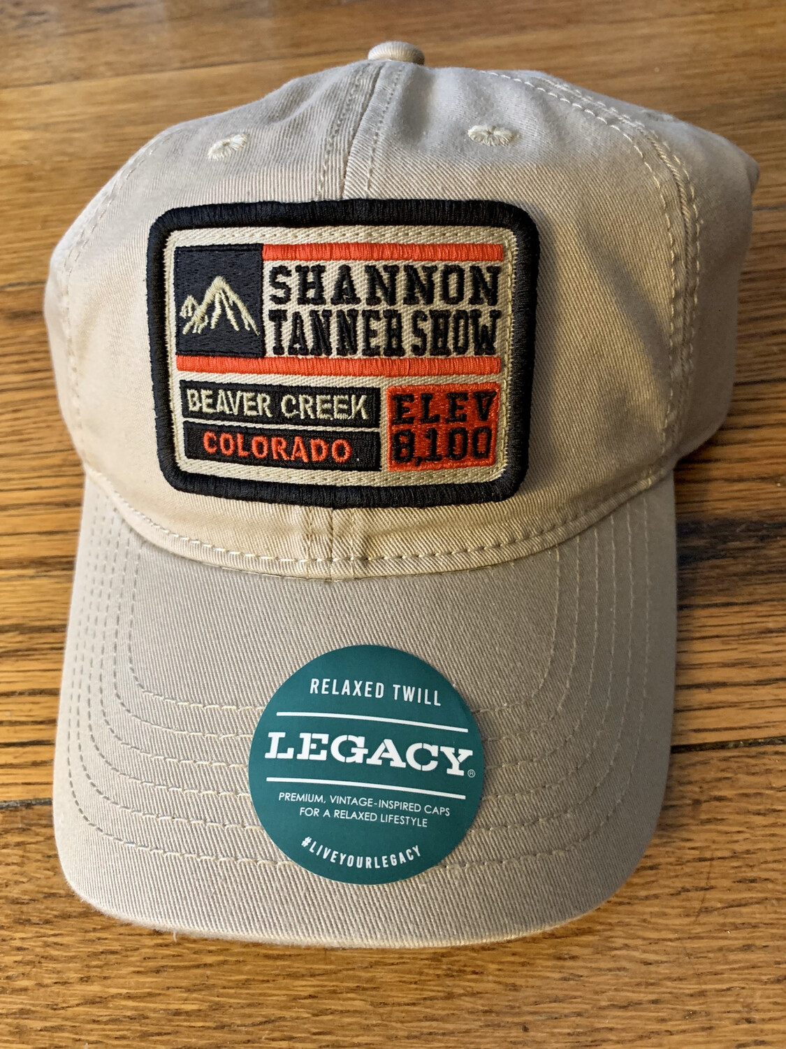 Limited Addition Khaki Shannon Tanner Show/Beaver Creek Legacy Hat