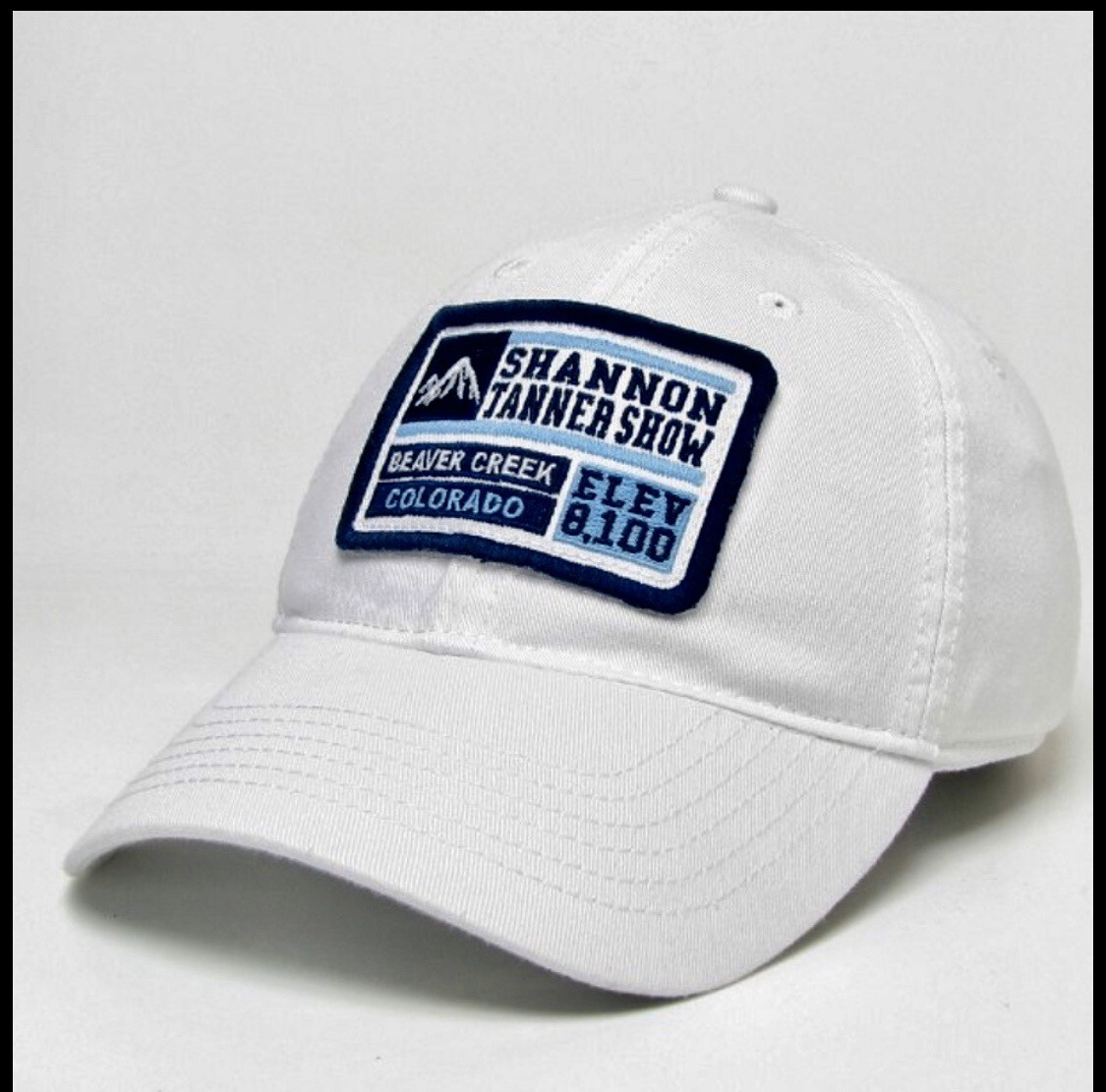 Limited Addition White Shannon Tanner Show/Beaver Creek Legacy Hat