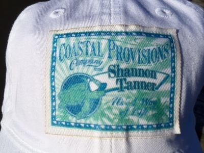 White Shannon Tanner/Coastal Provision Legacy Hat