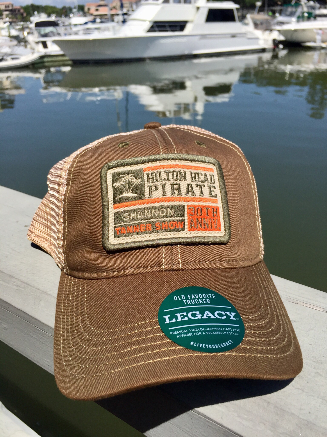 30th Anniversary Legacy Trucker Hat Olive